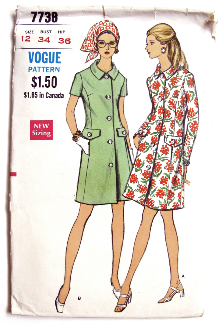 Vogue 7738, Vintage Vogue, Jessica Quirk, What I Wore