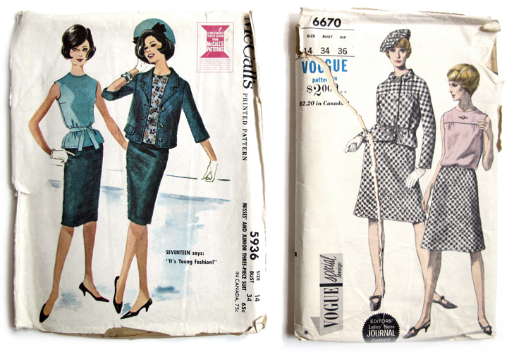 Vogue 6670, McCalls 5936, Vintage Patterns, Jessica Quirk, What I Wore