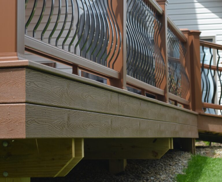 Custom deck fascia ideas options woodland ohio