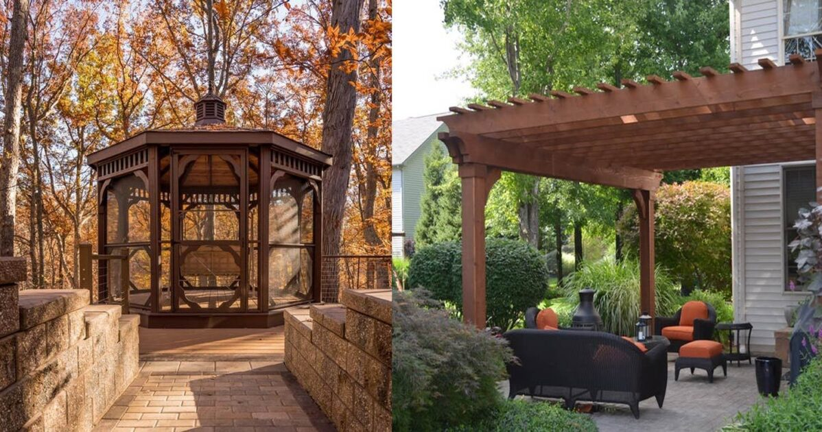 - Pergola Vs. Gazebo: What Is The Difference Between Pergola And Gazebo
