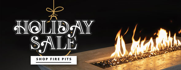 fire pit with graphic overlay