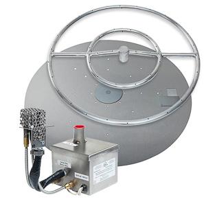 Round AWEIS Burner System