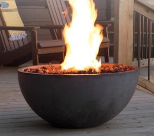 Kingmsan Concrete Fire Bowl