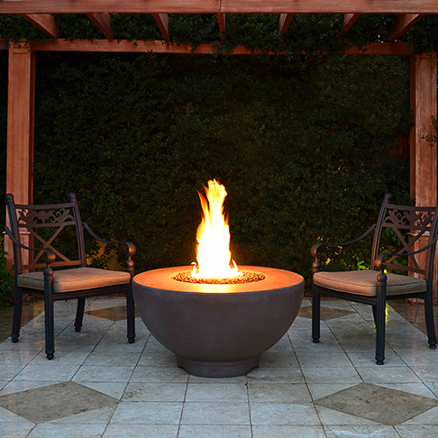 Terrific Can I Put A Fire Pit On My Wood Deck Woodlanddirect Com Home Interior And Landscaping Eliaenasavecom