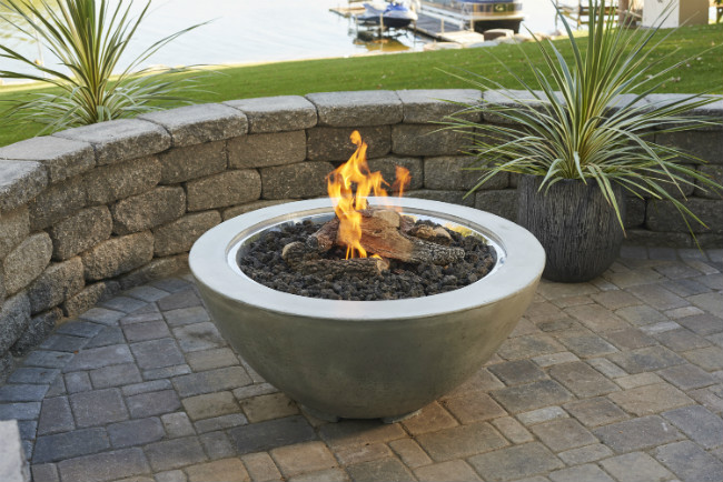 The Cove Gas Fire Bowl