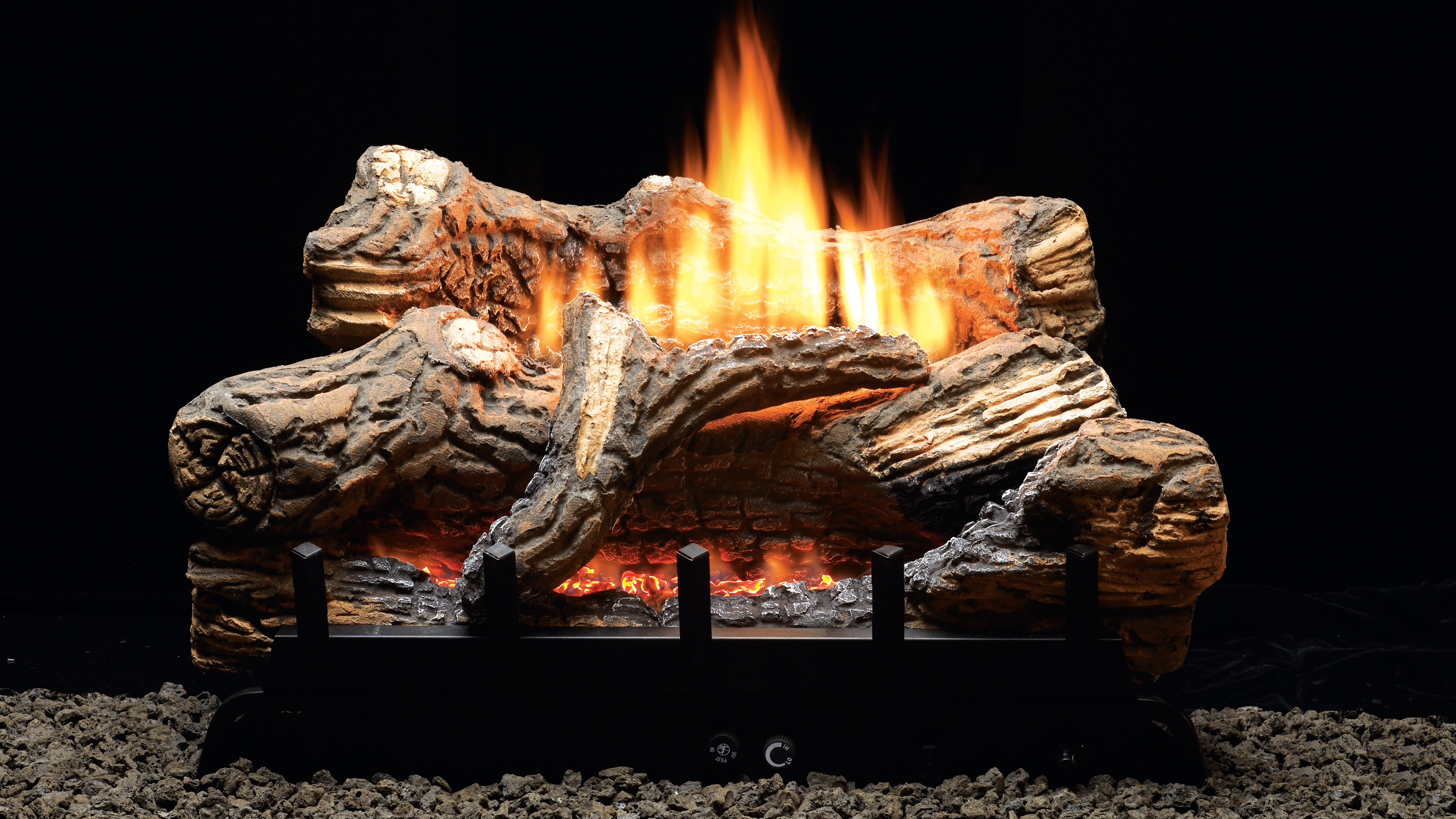 Vented Vs Ventless Woodlanddirectcom Gas Log Sets Gas Logs