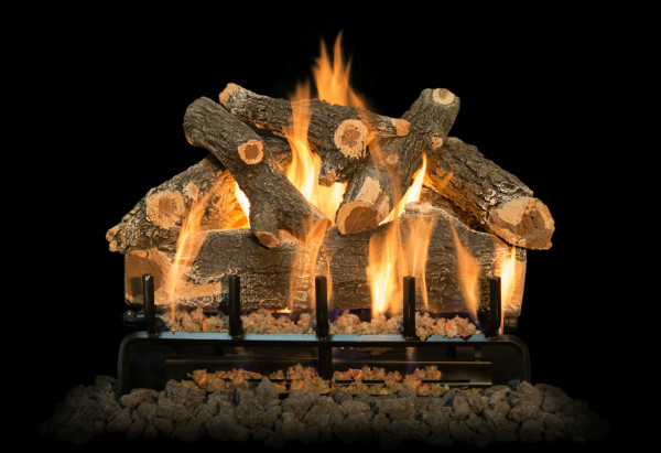 AZ Weathered Oak Gas Logs
