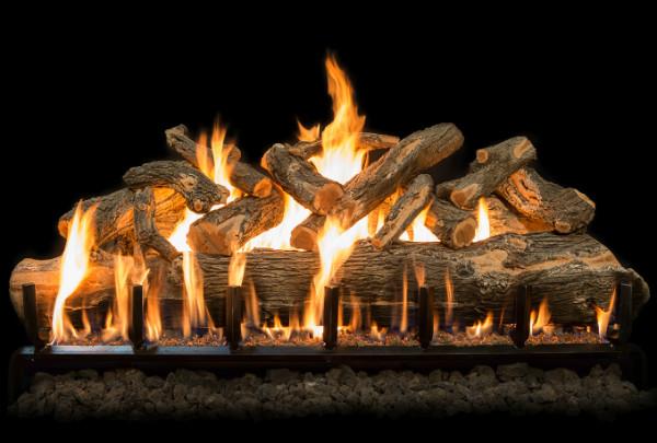 Grand Canyon Gas Logs Jumbo Set