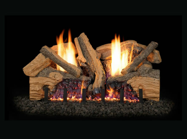 Real Fyre Foot Hill Ventless Gas Logs