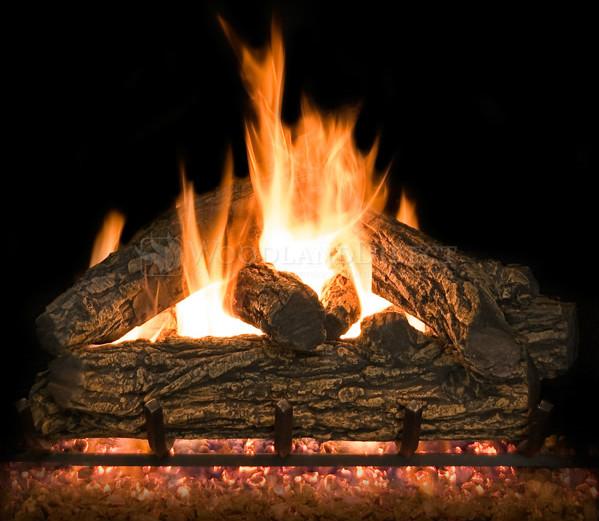 Country Oak Gas Logs