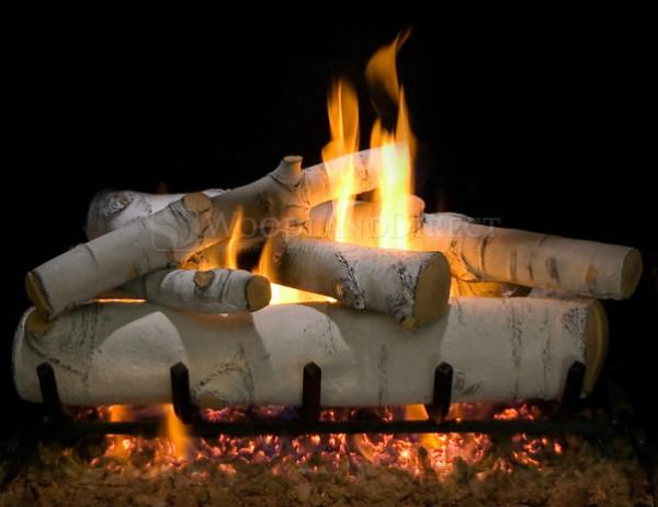 Sierra Birch Gas Logs