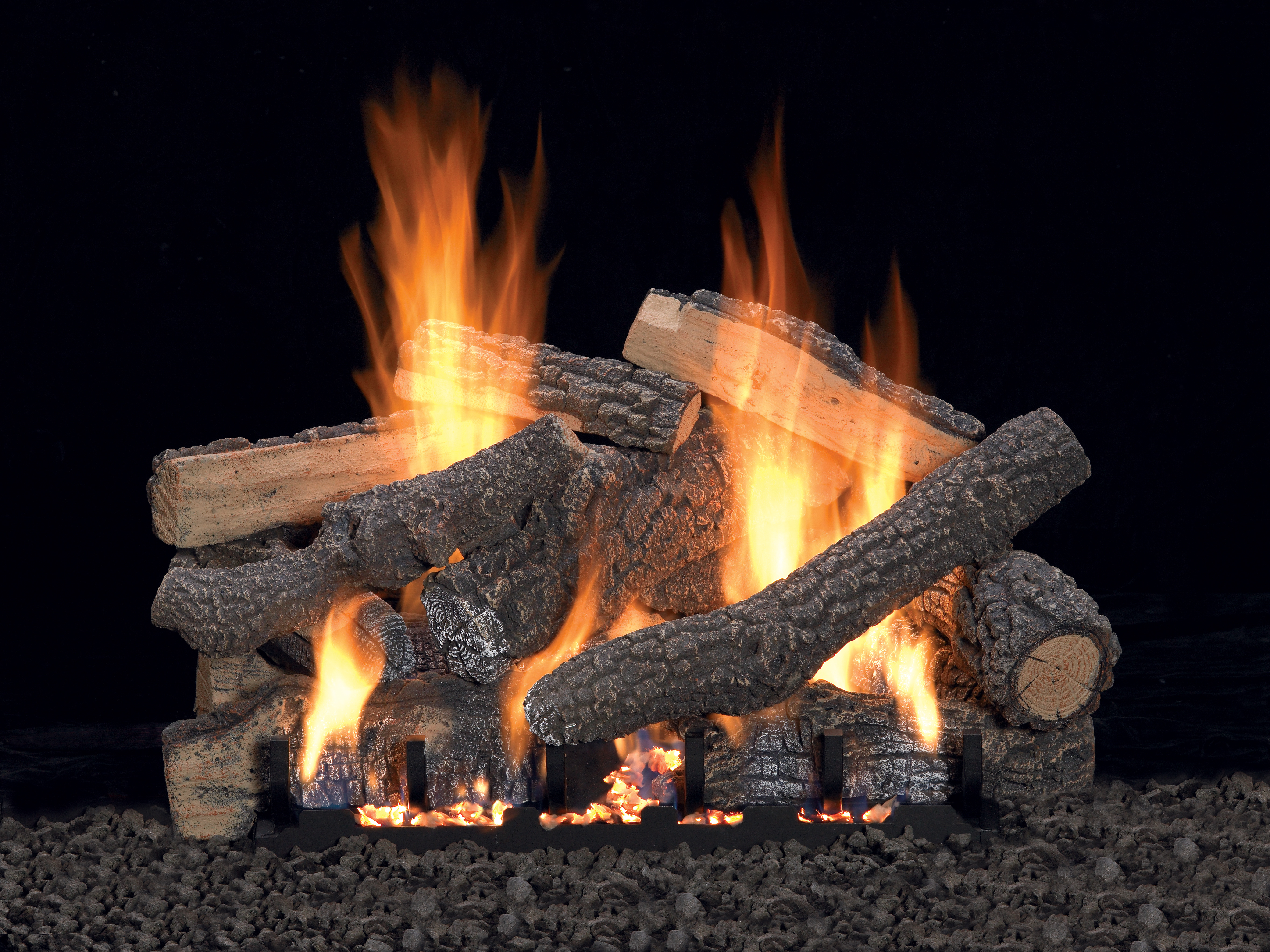 Groovy Woodland Direct Top 5 Ventless Gas Log Sets Home Remodeling Inspirations Genioncuboardxyz