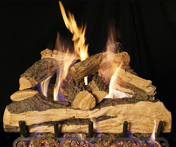 Woodland Direct Top 5 Vented Gas Log Sets