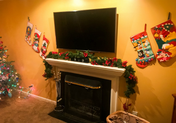 Disney Christmas Mantel & Decor