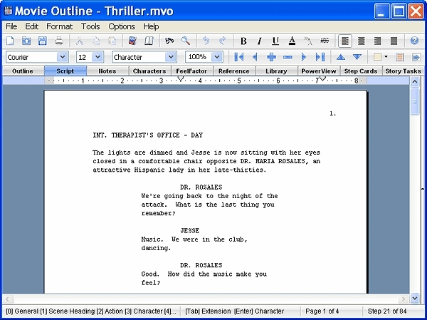 Movie Outline Software: Screenplay Outline & Screenwriting Software