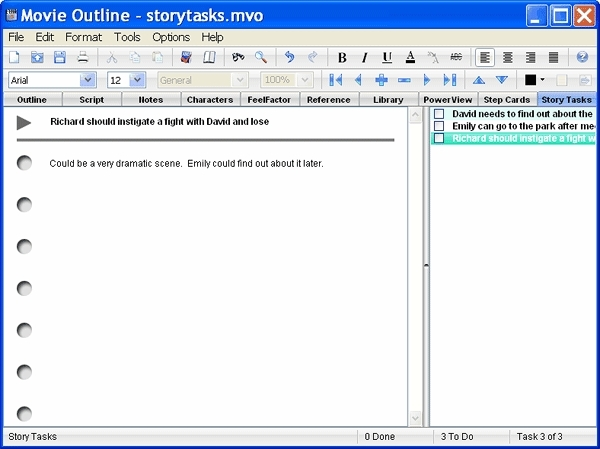 movie outline software screenplay outline screenwriting software
