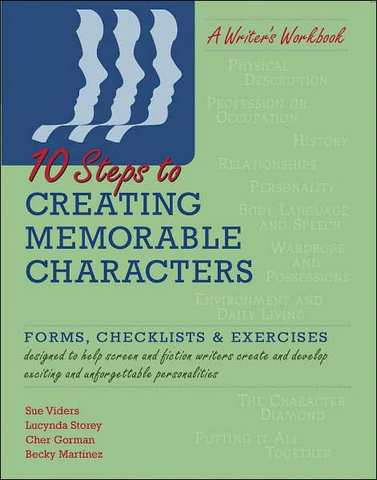 how are memorable characters created in That's why after each lesson you'll get a chance to practice creating new  characters and tweaking the ones you already have seven lessons means  seven.