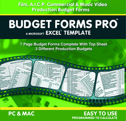 Budget Forms Pro