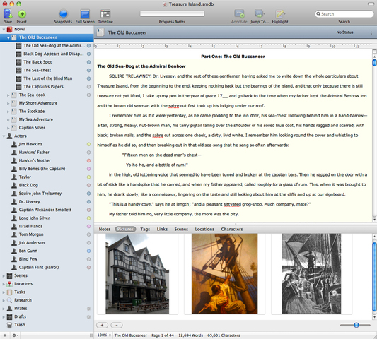 creative writing software for mac
