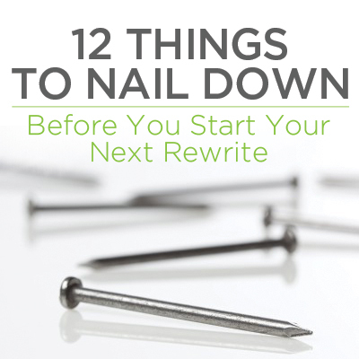 12 Things to Nail Down Before