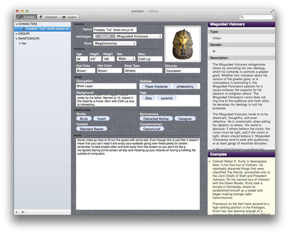 creative writing software for mac Movie magic screenwriter - integrated professional screenwriting software available on mac and creative writing software for mac and windows designed by.