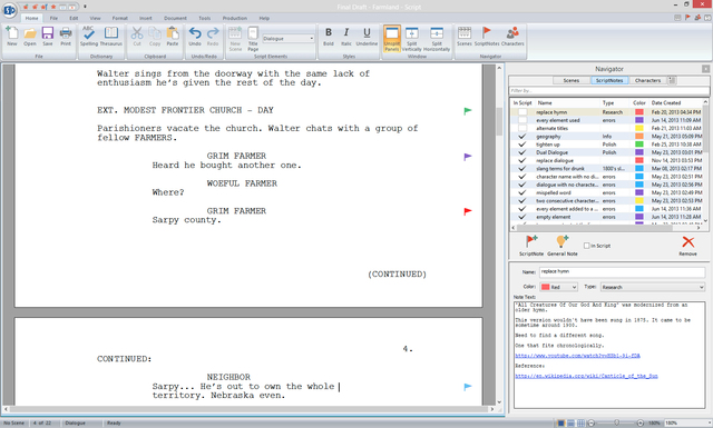 screenwriting software Results 1 - 25 of 47  all the screenwriting software you need you'll find only the best screenwriting  software at writers store for your screenplay writing software.