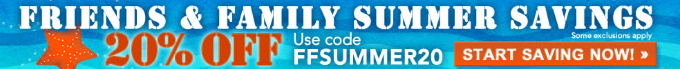 20% off Entire Store Summer Sale - 2015