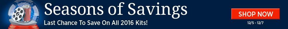 12/7 Seasons of Savings 2016 Kits LC