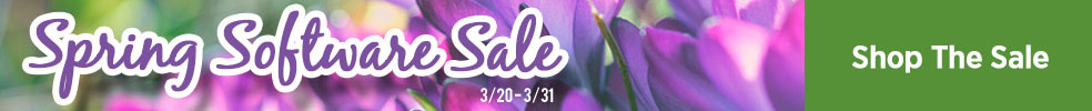 3/2017 Spring Software Sale