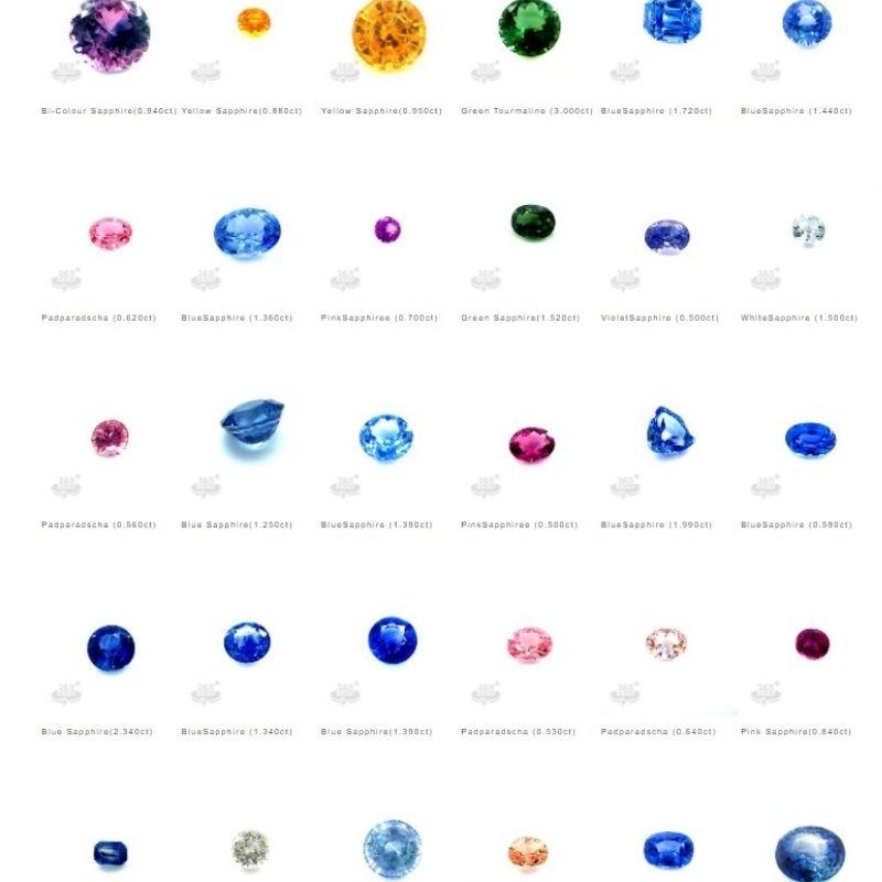 Virtual sapphire inventory