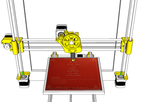 Prusa3: FIT variant of Prusa i3 RepRap printer
