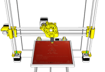 FIT variant of Prusa i3 RepRap printer
