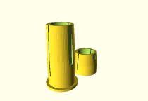 Parametric Parasol foot bushing