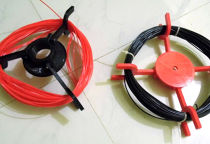Foldable, reusable, swapable spool for filaments, wires, coils, yo spool