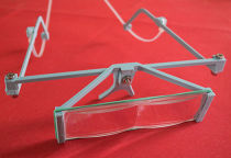 Printable magnifying or reading glasses.
