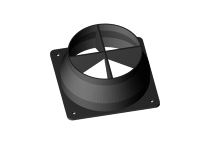 Air duct adapter for 120mm fans.
