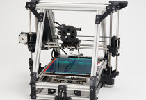 The Lulzbot 3D printer you can stand on