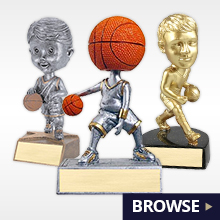 Basketball Trophies, Plaques, Medals and Basketball Awards