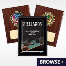 BILLIARD-PLAQUES