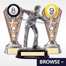 BILLIARD-TROPHIES