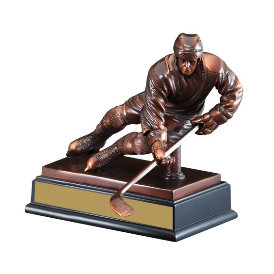 10 in Sculpture Hockey Trophy
