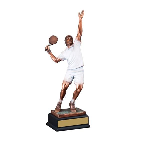19 in Male Tennis Sculpture Award