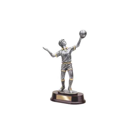 11 in Female Volleyball Resin