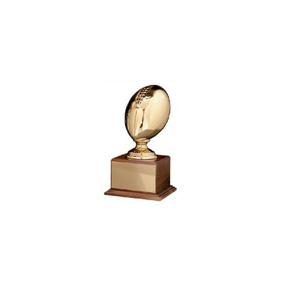 16 in Gold 3D Football casting