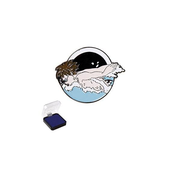 1 in Swimming Sports Pin