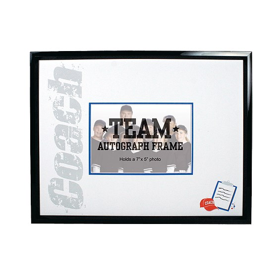 14 in x 11 in Coach Autograph Frame