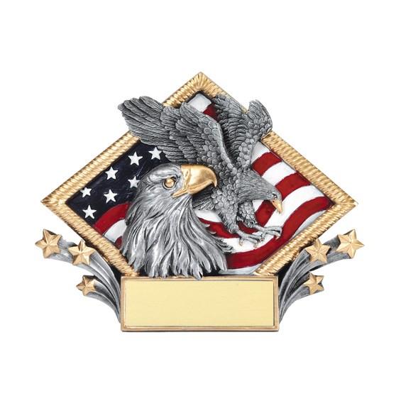 Diamond Plate American Eagle Award