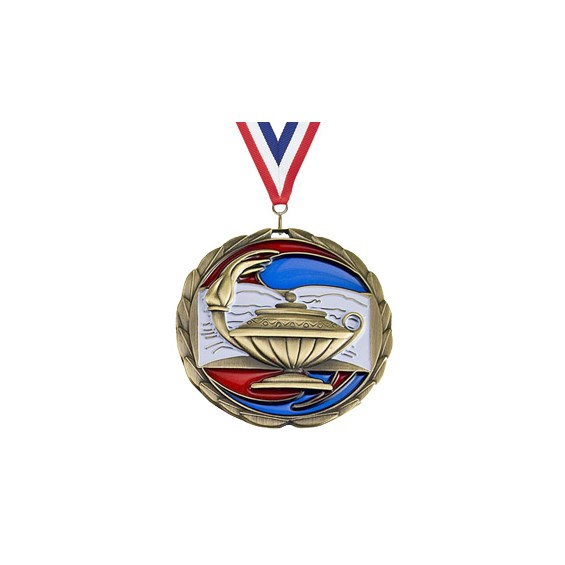 25 Epoxy Series Lamp Of Knowledge Medal Awards International
