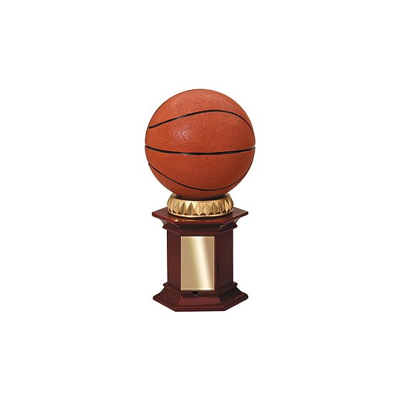 12 in Basketball Resin Trophy