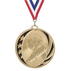 """2"""" MidNite Star Soccer Medal"""